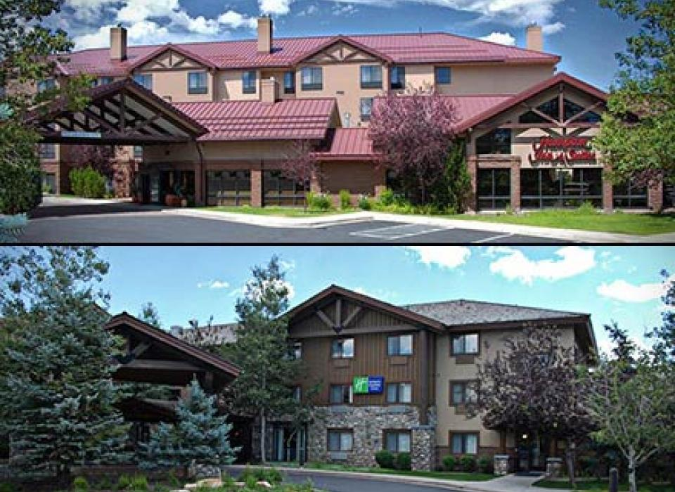 Hampton Inn and Holiday Inn Express - Park City, Utah